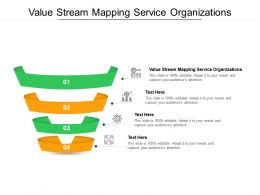 Value Stream Mapping Service Organizations Ppt Powerpoint Layouts Cpb