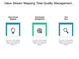 Value Stream Mapping Total Quality Management Pastel Model Cpb