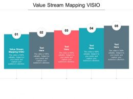 Value Stream Mapping VISIO Ppt Powerpoint Presentation Professional Cpb