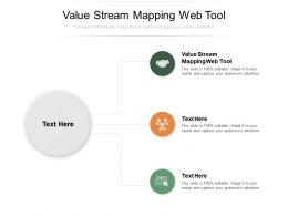 Value Stream Mapping Web Tool Ppt Powerpoint Presentation Example Cpb