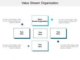 Value Stream Organization Ppt Powerpoint Presentation Infographic Template Outline Cpb