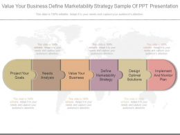 Value Your Business Define Marketability Strategy Sample Of Ppt Presentation