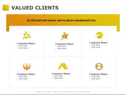 Valued Clients Ppt Powerpoint Presentation Pictures Design Inspiration