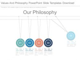 Values And Philosophy Powerpoint Slide Templates Download