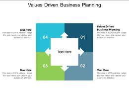 Values Driven Business Planning Ppt Powerpoint Presentation Outline Cpb
