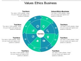 Values Ethics Business Ppt Powerpoint Presentation Portfolio Sample Cpb