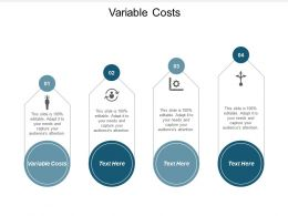 Variable Costs Ppt Powerpoint Presentation Icon Graphics Pictures Cpb