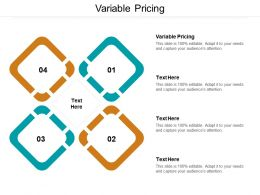 Variable Pricing Ppt Powerpoint Presentation Pictures Graphics Download Cpb