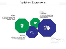 Variables Expressions Ppt Powerpoint Presentation Styles Example File Cpb