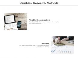 Variables Research Methods Ppt Powerpoint Presentation Images Cpb