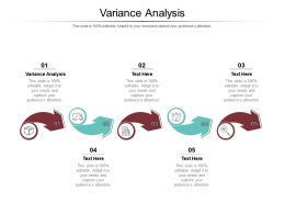 Variance Analysis Ppt Powerpoint Presentation Pictures Design Inspiration Cpb