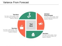 Variance From Forecast Ppt Powerpoint Presentation Gallery Backgrounds Cpb