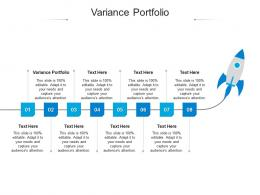 Variance Portfolio Ppt Powerpoint Presentation Design Templates Cpb