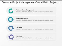 variance project management critical path project evaluate risks cpb