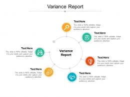 Variance Report Ppt Powerpoint Presentation File Files Cpb