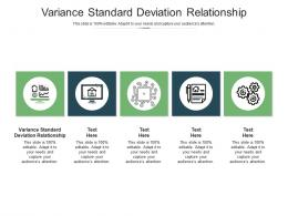 Variance Standard Deviation Relationship Ppt Powerpoint Presentation Show Template Cpb