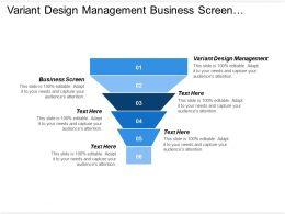 variant_design_management_business_screen_strategy_development_industry_analysis_Slide01