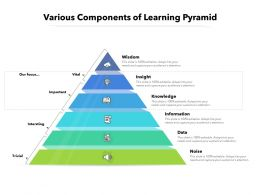 Various Components Of Learning Pyramid