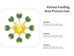 Various Funding Area Process Icon