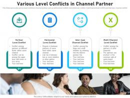 Various Level Conflicts In Channel Partner