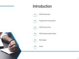 Various Phases Of SCM Introduction Ppt Demonstration
