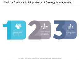Various Reasons To Adopt Account Strategy Management