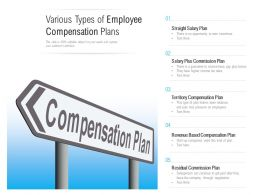 Various Types Of Employee Compensation Plans