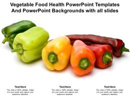 Vegetable Food Health Powerpoint Templates And With All Slides Ppt Powerpoint
