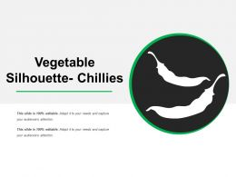 Vegetable Silhouette Chillies Ppt Sample Download