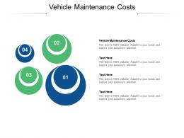 Vehicle Maintenance Costs Ppt Powerpoint Presentation Styles Slide Cpb
