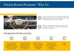 Vehicle Rental Proposal Why Us Ppt Powerpoint Presentation Slides Images
