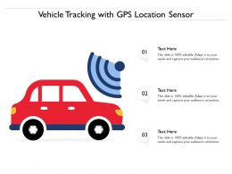 Vehicle Tracking With GPS Location Sensor