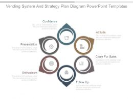 Vending System And Strategy Plan Diagram Powerpoint Templates