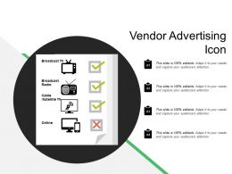 Vendor Advertising Icon