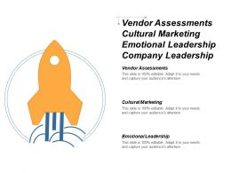 Vendor Assessments Cultural Marketing Emotional Leadership Company Leadership Cpb