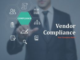 Vendor Compliance Ppt Infographic Template Graphics Example Compliance Performance