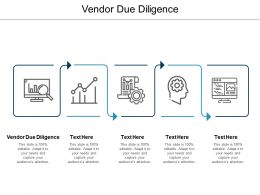Vendor Due Diligence Ppt Powerpoint Presentation Ideas Grid Cpb