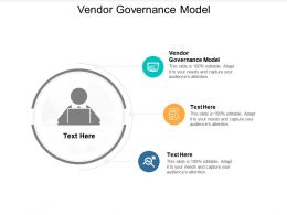 Vendor Governance Model Ppt Powerpoint Presentation Styles Infographic Template Cpb