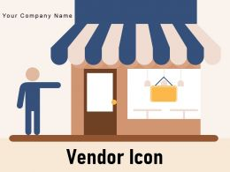 Vendor Icon Gear Customer Commerce Street Retail Store