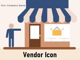 Vendor Icon Gear Customer Commerce Street Retail Store