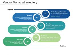 Vendor Managed Inventory Ppt Powerpoint Presentation Background Images Cpb