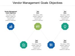 Vendor Management Goals Objectives Ppt Powerpoint Presentation Gallery Graphics Template Cpb