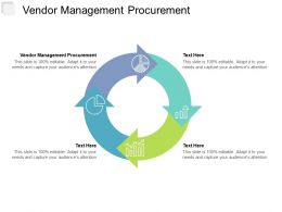 Vendor Management Procurement Ppt Powerpoint Presentation File Good Cpb