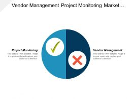 Vendor Management Project Monitoring Market Segmentation Plan Digital Marketing Cpb