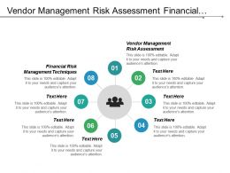 Vendor Management Risk Assessment Financial Risk Management Techniques Cpb