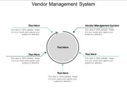 Vendor Management System Ppt Powerpoint Presentation Portfolio Graphics Example Cpb