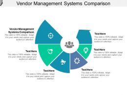 Vendor Management Systems Comparison Ppt Powerpoint Presentation Infographic Template Cpb