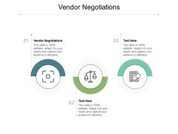 Vendor Negotiations Ppt Powerpoint Presentation Inspiration Ideas Cpb