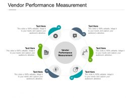 Vendor Performance Measurement Ppt Powerpoint Presentation Background Cpb