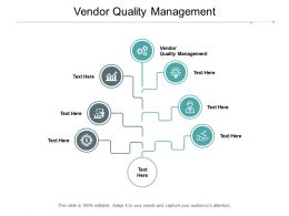 Vendor Quality Management Ppt Powerpoint Presentation Gallery Visual Aids Cpb